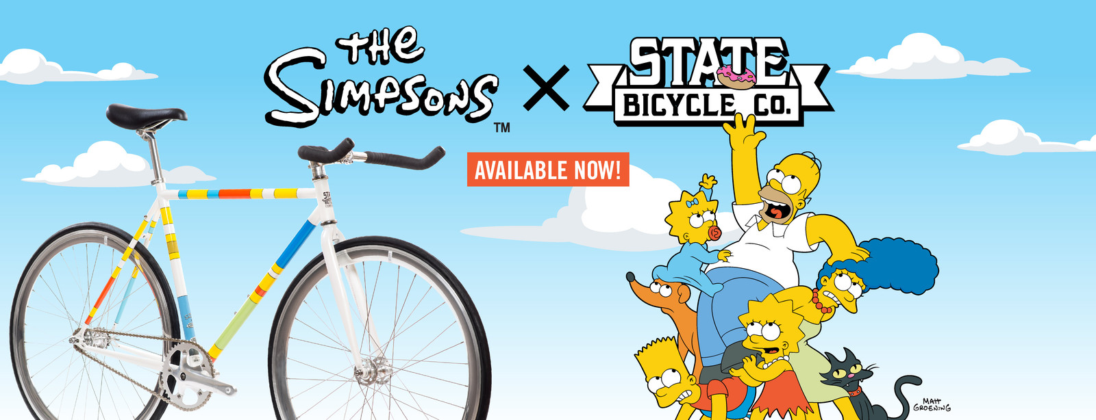 The Simpsons x State Bicycle Co. launch!